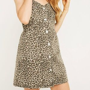 Urban Outfitters leopard dress - Small